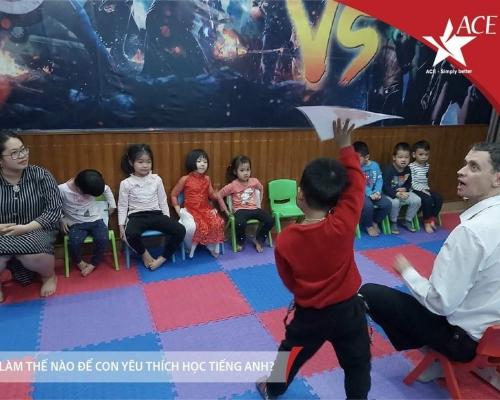 Tiếng Anh Mẫu Giáo (3 đến 6 tuổi) | Trung tâm Anh ngữ ACE Hải Phòng